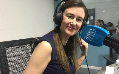 Entrevista de Patricia García de K4J en Radio Inter