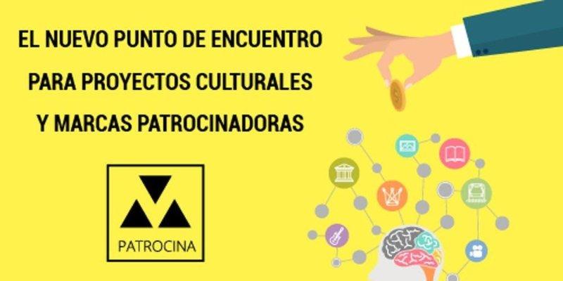 PATROCINAM, LA PLATAFORMA DE PATROCINIOS CULTURALES