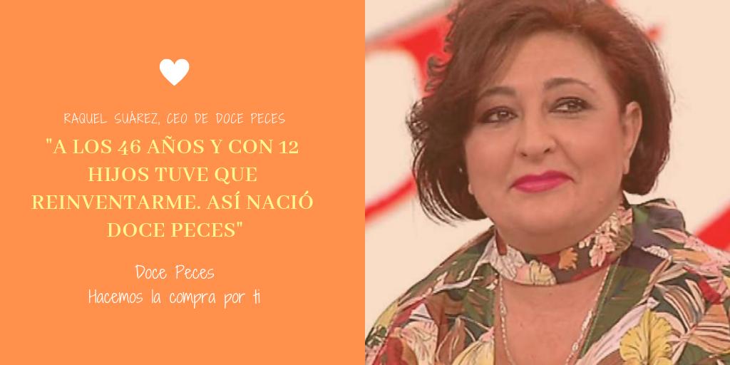 Raquel Suárez Fundadora de Doce Peces en Radio Intereconomía