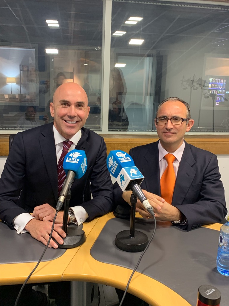 Joaquin Danvila Pedro Aceituno UDIMA Universidad Radio Intereconomia3