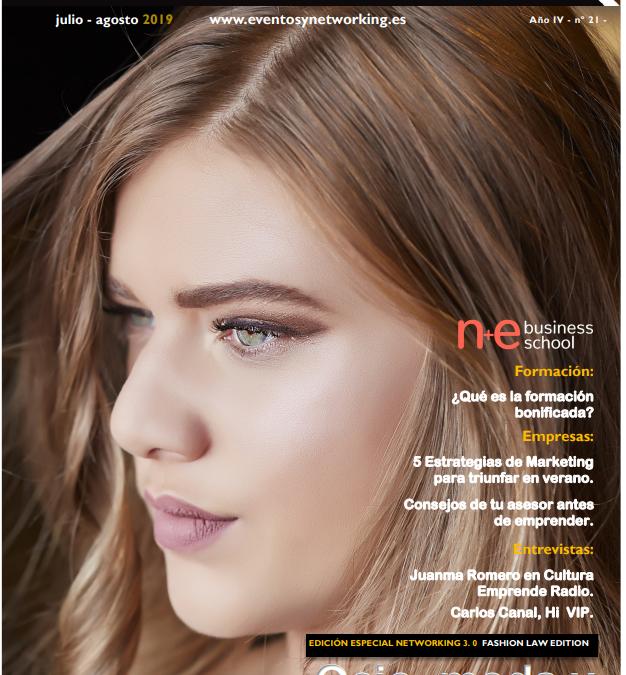 Entrevista de Alejandra Ron-Pedrique en la Revista Eventos y Networking